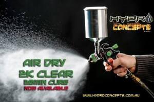 Air Dry 2K HS Clear Coat 1.25ltr kit Automotive refinishing High Gloss paint