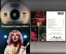 Peter Frampton Comes Alive! WEST GERMANY PDO Pressing 396 505-2 CD Live 1976