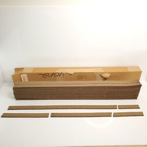 """Rare Vintage Midwest Products O Gauge Scale Cork Sand Roadbed 24 36"""" Pieces"""