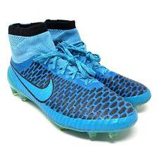 Nike Magista Obra FG Blue Lagoon Turquoise Size 9 Lightning Storm Pck 641322-440