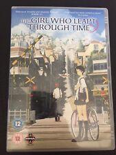 The Girl Who Leapt Through Time DVD (2008) Mamoru Hosoda Manga Anime R2 PAL UK