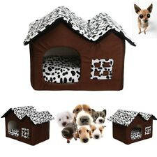 New Dog House Pet Shelter Large Kennel Wood Weather Cage Home Resistant