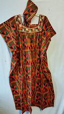 Womens Clothing African Kente Print Maxi Kaftan Caftan Long Dress Plus Size P# 2