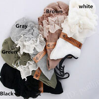 1 pair New Women Ladies Retro Lace Ruffle Frilly Ankle Sock Cotton Socks Fashion