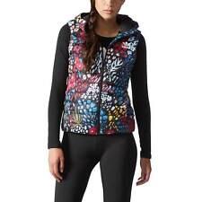 Adidas Original Puffer AOP Hooded Vest Women's XS- Floral Print