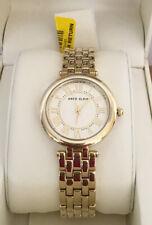 Anne Klein Roman Numeral Gold Dial Ladies Watch 2984GYGB