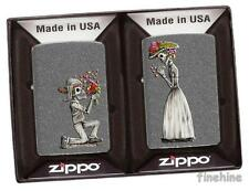 ZIPPO Partner-Pack DAY OF DEAD neu+ovp SKULLS SET