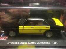 SIM6F Voiture 1//43 IXO altaya CHRYSLER Diesel Taxi Barcelone 1980