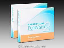 PureVision 2HD for Astigmatism (Toric)  2×3 Stück - Neu&OVP