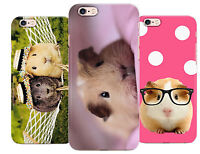 Guinea Pig Cute Hipster Style Art Phone Cover Case fits Apple Iphone 5 6 7 8 X