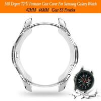 TPU Protector Case Cover Shell For Samsung Galaxy Watch 42/46MM Gear S3 Frontier