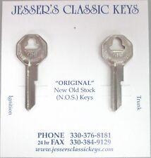 GM Chevrolet B-10 B-10 Briggs & Stratton Original Nickel Keys B&S 1936-1966 NOS