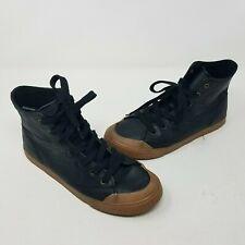 Tretorn Marley HI2 Sneaker Leather Hi Tops Womens 7.5 Black Honey Athletic Shoes