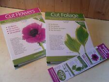 Cut Flowers & Cut Foliage Set of two books