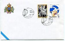1998-07-25 San Marino 7° regata velica 24hr S.Marino ANNULLO SPECIALE Cover