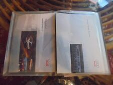 1987 CADILLAC DEVILLE/FLEETWOOD 4 PIECE OWNERS MANUAL IN HARD CASE