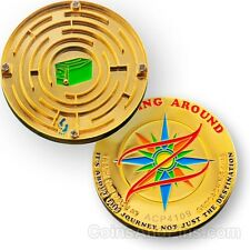 Maze Game Geocoin For Geocaching - A Geocoin And Game In One!