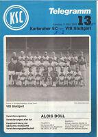 BL 82/83  Karlsruher SC - VfB Stuttgart