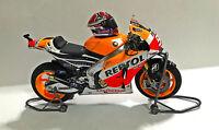 1:12 Tamiya Full Detail Honda RC213V Marc Marquez 2014 Bike + Helmet + Stand NEW