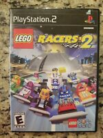 LEGO Racers 2 (PlayStation 2, PS2) COMPLETE W/ MANUAL TESTED FREE S/H