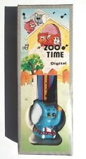 New Vintage 1970's Kids (Freddy) Zoo Time Digital Elephant Watch Hong Kong