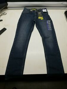 Lee Boys Extreme Comfort Straight Leg Stretch Skinny Fit Denim Jeans Size 14R