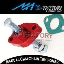 For ATV Honda TRX 400EX year 99 + Billet Red Manual Cam Chain Tensioner
