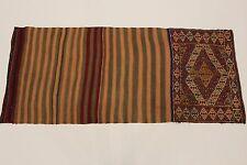 en exclusivité nomades Kelim Sumach Tapis Persan d'Orient 2,11 x 0,91
