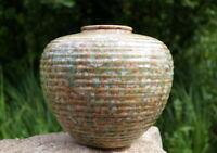 traumschöne Vase Studio Keramik 70er Keramik glasiert lim. Auflage Designerstück