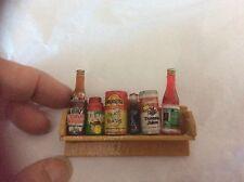 Vintage 3D Miniature Condiments Shelf Pin