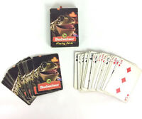 Budweiser Bud Weis Errr Frog Playing Swap Cards Advertising - Incomplete Vtg 96