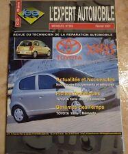 revue technique l'expert automobile l'ea N°393 TOYOTA YARIS + FICHES TECHNIQUES