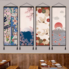 Japanese Printed Tapestry Wall Hanging Banner Flag Sushi Restaurant Home Decor