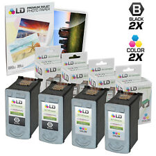 LD © Remanufactured Canon #PG-40 & #CL-41 Combo Set - 2 Black 2 Color