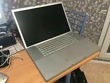 """*Apple MacBook Pro 17P """"Core 2 Duo"""" @ 2.4Ghz / A1229 EMC 2137 / Ne Démare Pas"""