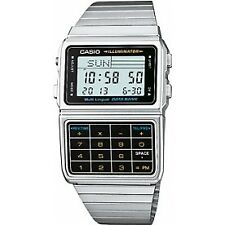 Casio Retro Databank 80s Style Calculator Vintage Gadget Watch Dbc-611e-1ef