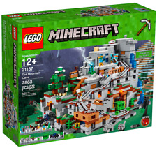 LEGO 21137 MINECRAFT MOUNTAIN CAVE 21118 21128 SPIDER CHARGED CREEPER 5% OFF
