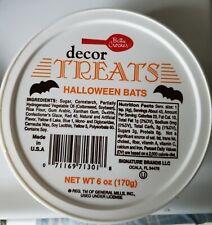 Betty Crocker Halloween Treats Chocolate Bats Sprinkles Jimmies Orange Cupcake