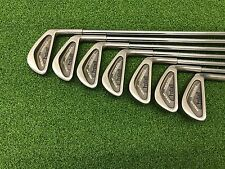 NICE Wilson Golf PROSTAFF Radius Sole Iron Set 3-9 Right RH Steel REGULAR Used