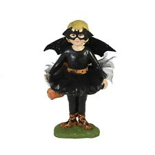 Bethany Lowe Ballerina Bat Girl Costume Halloween Glitter Figurine Retro Decor