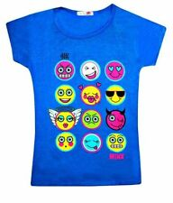 Girls' Viscose/Rayon Short Sleeve Sleeve T-Shirts, Top & Shirts (2-16 Years)