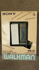Sony Walkman WM-36 Cassette player
