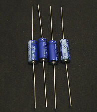 4pcs-- 100uf 63v Axial Electrolytic Capacitors 63v100uf Nichicon for Audio