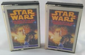 Star Wars Children of the Jedi by Hambly cassette tapes part 1& 2 audio abridged
