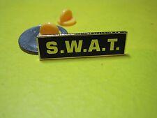 SWAT LAPEL / HAT PIN BLACK / GOLD CLUTCH PIN BACKS LOOK UNIFORM TACTICAL*