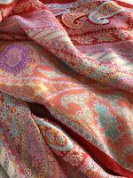"NEW! Roeckl 100% Silk Scarf - Women's - Rectangular 17"" wide x 70"" long"