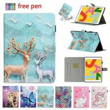 """For iPad 10.2 7th 11 2020 Air 9.7"""" 5/6th 10.5 Mini Flip Leather Smart Case Cover"""