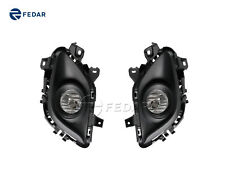 WINJET Clear Fog Lights Driving Lamps For 2013-2015 Mazda Mazda 6