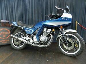 Honda CB 750 F Oldtimer 1983 Klassiker Motorrad Tourer
