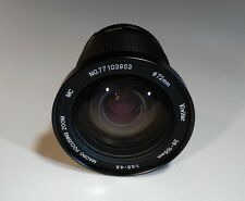VIVITAR 28-105mm f/3.5-4.5 MC Macro Focusing Zoom For Nikon AI-S Made In Japan